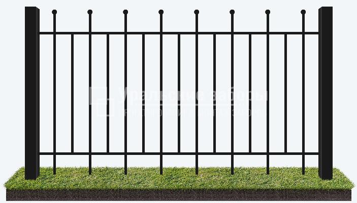 Сварной забор «Секционный»