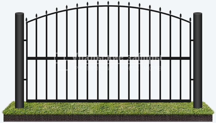 Сварной забор «Премиум»