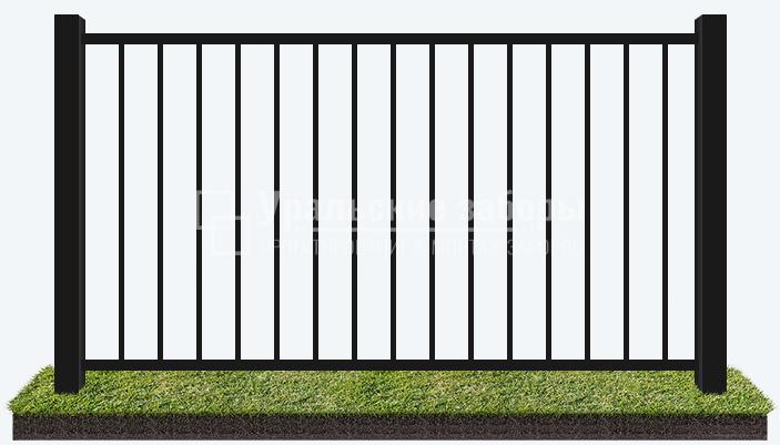 Сварной забор «Стандарт»