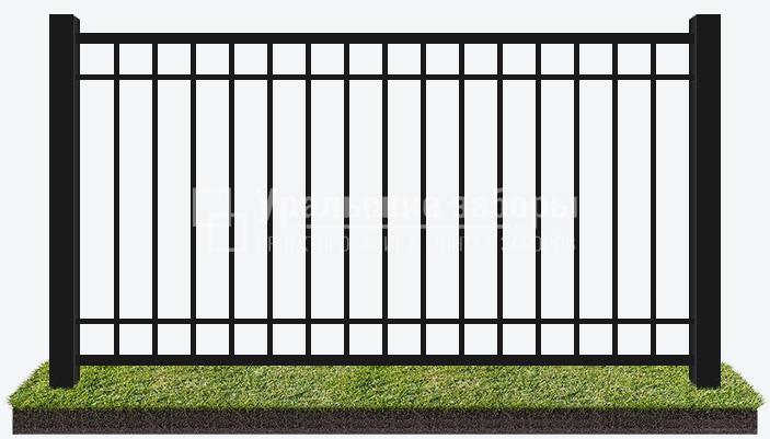 Сварной забор «Стандарт+»
