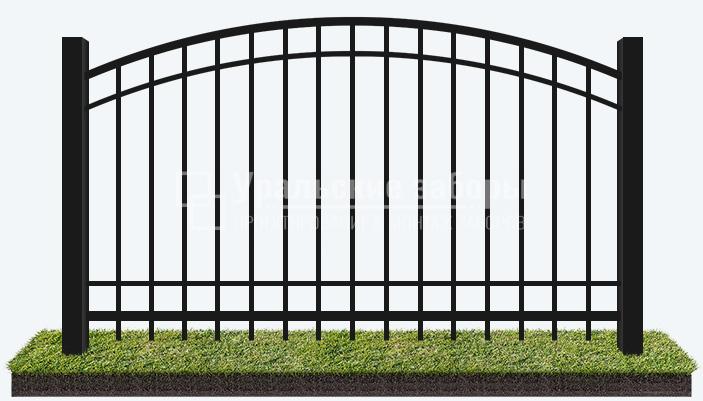 Сварной забор «Волна»